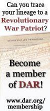 DAR Genealogical Research System – Membership