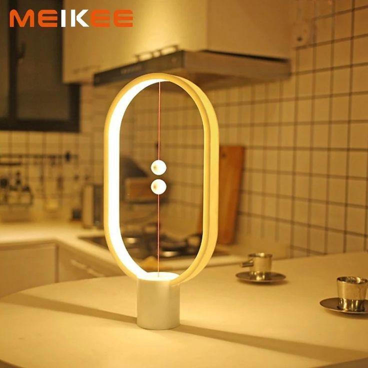 Magnetic Led Lamp Fast Ship 3 7 Days Night Light Bulbs Minimalist Decor Lamp
