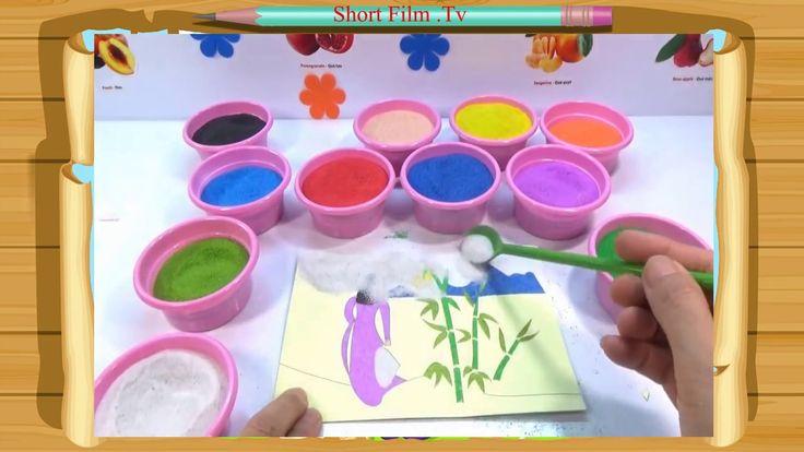 [Short Film .Tv] Film for Children - Colors for children - Tranh Cát Cô ...