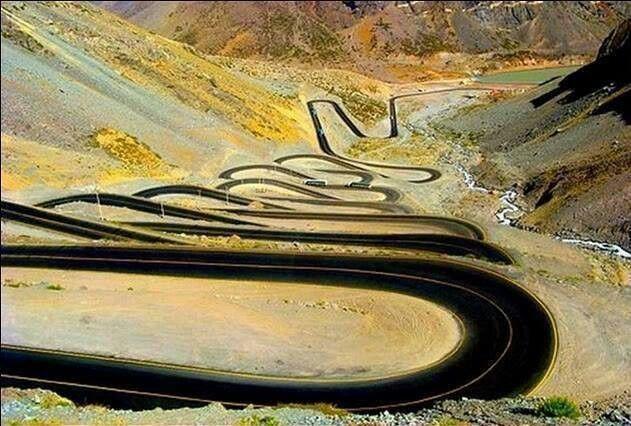 Long N winding road