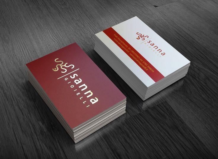 business card hotstamping; biglietti da visita con hotstamping oro