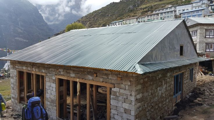 Namche Bazar new roof completed