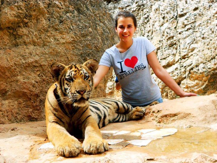 Tiger Tiger. In Thailand Thailand. With Tina Loftus.