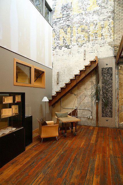 Interior design, decoration, loft, The Loft Literary Center in Minneapolis.