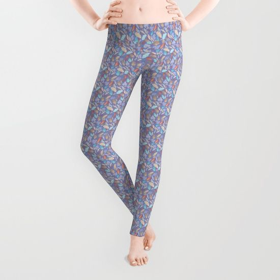 Get the latest unique yoga pants in this  cute repeat pattern inspired by desert falcons and owls