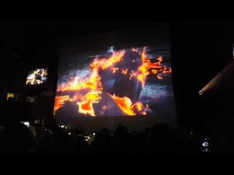 Black Sabbath Opening Video - 11-10-16 - Toyota Center, Houston, Texas