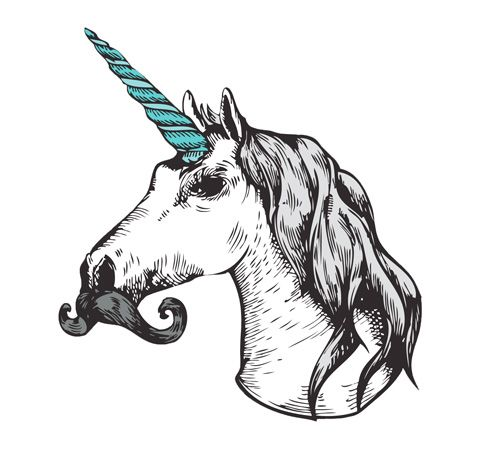 unicorns with moustaches - Google Search | Unilove ...