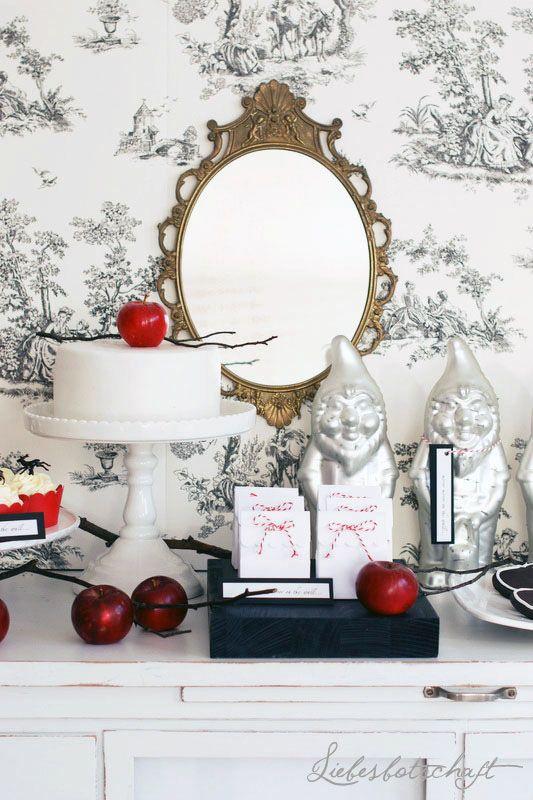 Best snow white centerpiece ideas on pinterest