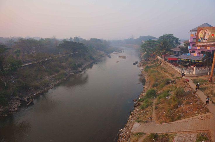 La frontiere entre thailande et Myanmar