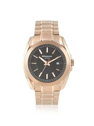 81% OFF Rudiger Men's R1001-09-007 Dresden Rose/Black Date Watch