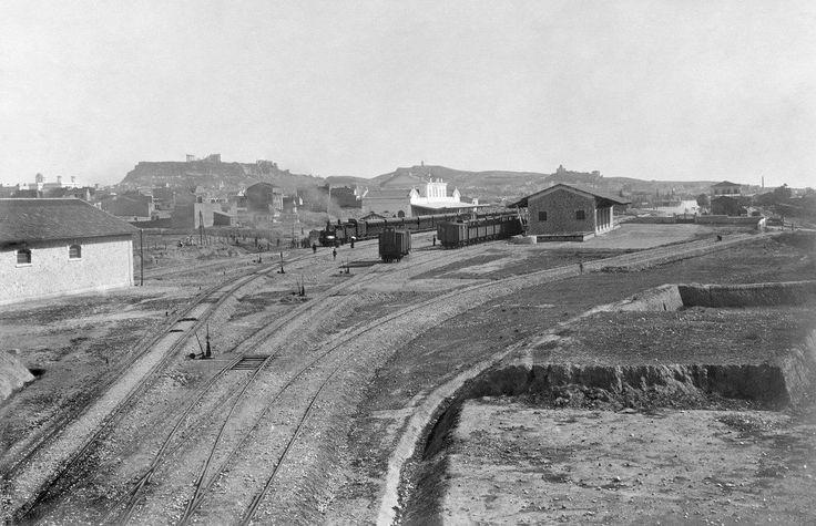 Αθήνα  1910 σταθμός Λαρίσσης και Πελοποννησου