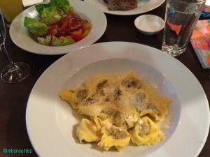 NEW REVIEW: Carluccios Woking - Tortelloni Di Cervo wine braised venison tortellini. #italian #pasta #carluccios #surrey #eatingout #review #foodblog #blog