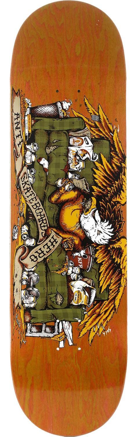 Anti Hero Skateboards Obese Eagle Skateboard Deck