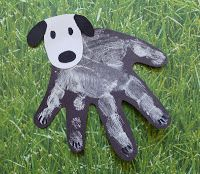 Craftulate: Dog handprint