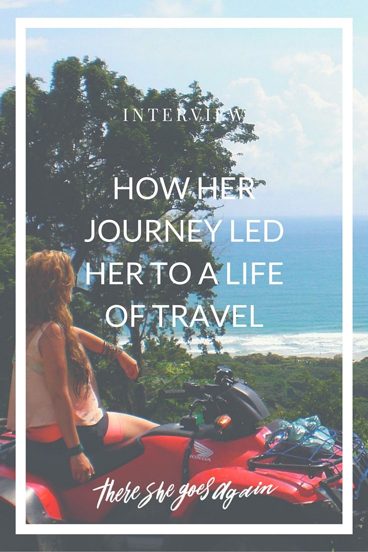 Meet Sarah of Salted Adventures and learn how her journey from watching the Olsen twins to reconnecting with God has led her to a life of travel. via @thshegoesagain