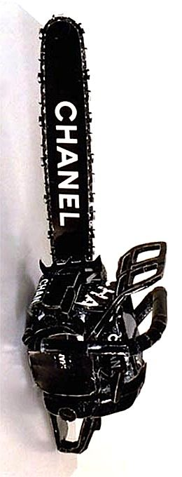Chanel Chain Saw by Tom Sachs (1996)
