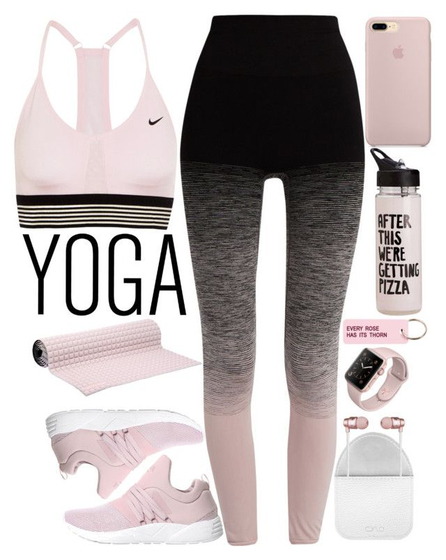 """Untitled #1895"" by mihai-theodora ❤ liked on Polyvore featuring NIKE, ARKK Copenhagen, Pepper & Mayne, No Ka'Oi, ban.do, Various Projects and CYLO"