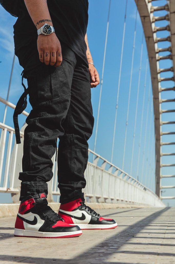 4837eec5f379 Air Jordan 1 Bred Toe  AllenClaudius  bowtiesandbones  sneakerhead  indian   hypebeast  highsnobiety  sneakerculture  streetwear  …