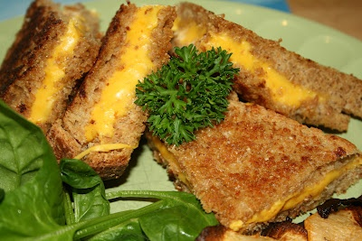 Grilled Cheese Sandwich with Hidden Carrot