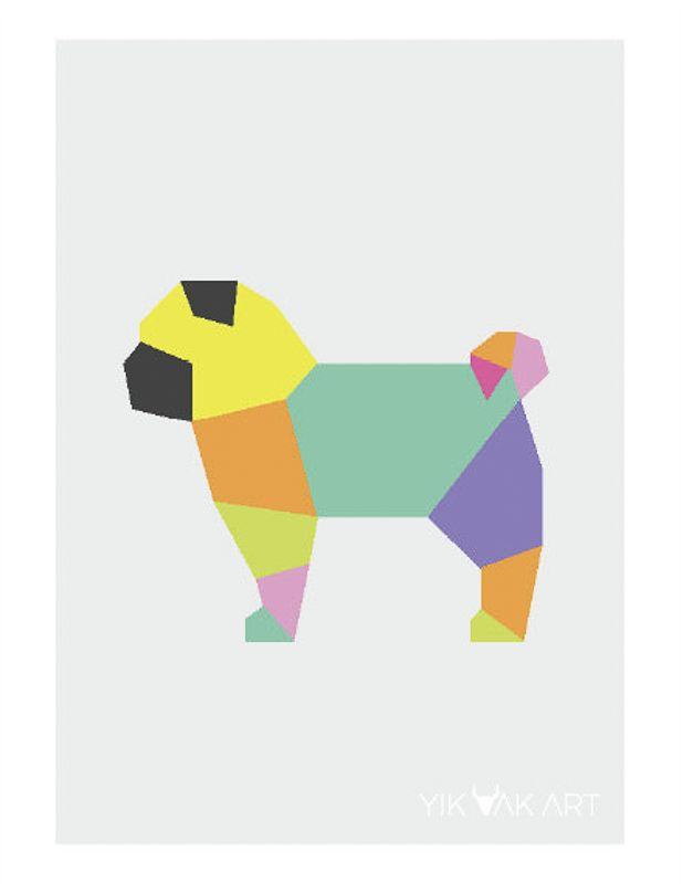 Must Buy Pieces of Pug Art to Add to Your Home | www.thepugdiary.com