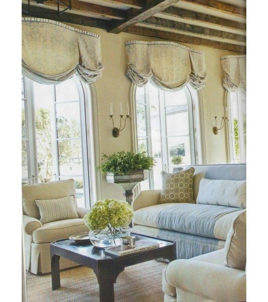 36 best images about window treatment ideas on pinterest - Living room picture window treatments ...