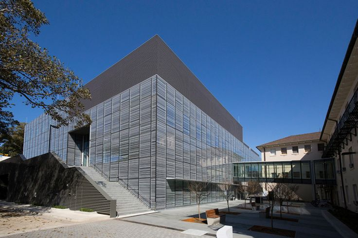 Sydney's nanoscience lab has floating floors and Faraday cages   The outside of the new building