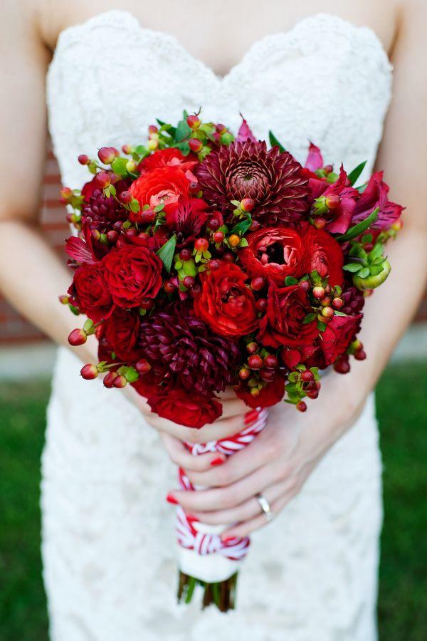 Una boda DIY en rojo y blanco 5