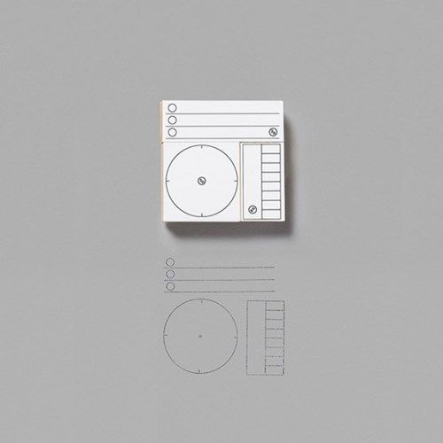 올인원 아카이빙 스탬프 키트 (시계,날짜,체크리스트)