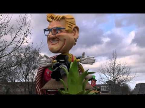 De Wickys 2016 Carnaval optocht 2016 1e prijs wagens