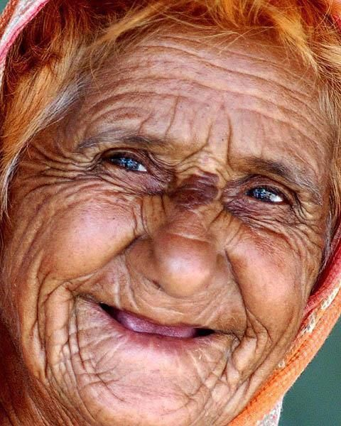 Smiling Older Woman, just beautiful.