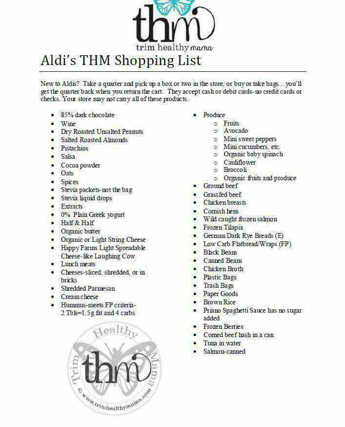 Aldi shopping list                                                                                                                                                                                 More