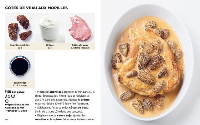 Côtes de Veau aux morilles Jean-François Mallet