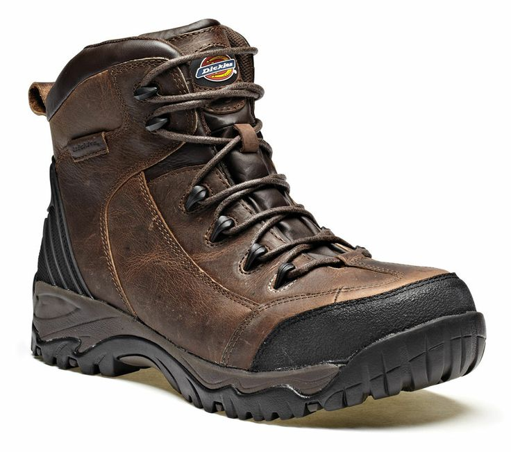 The Calder Safety Boot is an excellent and highly recommended product from  the Dickies range. The boot offers fantastic protection for use in and  around the ...
