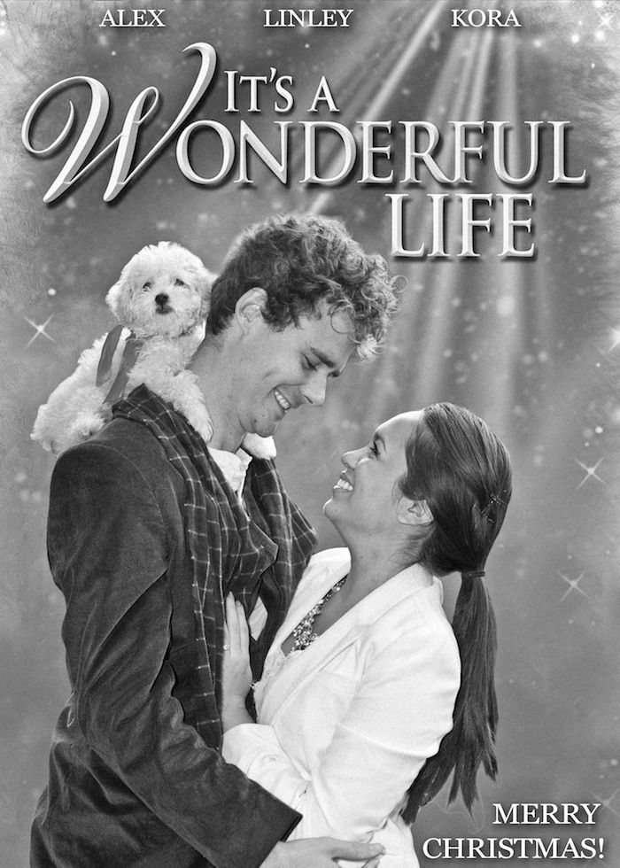 Fun Christmas Card Ideathemed After The Movie It's A Wonderful
