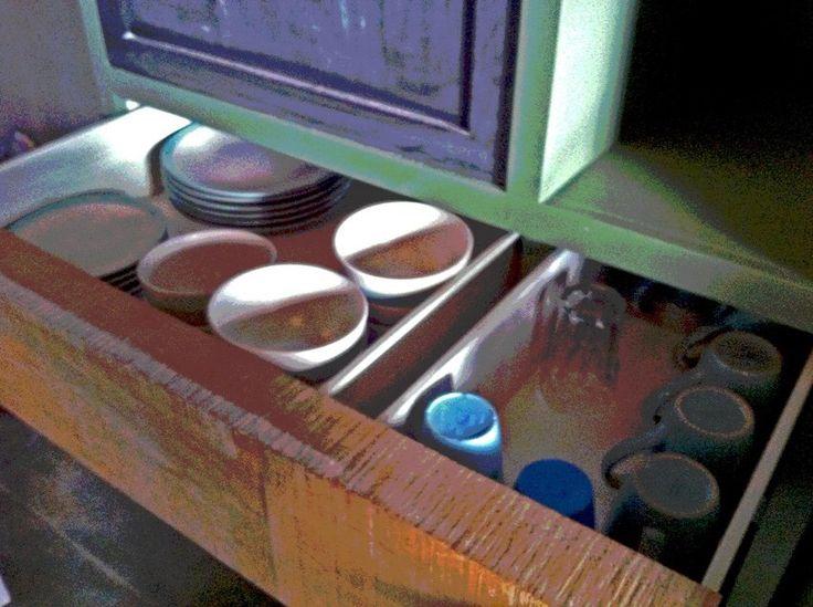 The hidden drawer