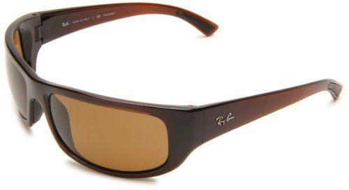 Ray Ban Glasses Frames Sam s Club : Ray-Ban Mens RB4176 Polarized Rectangle Sunglasses,Dark ...