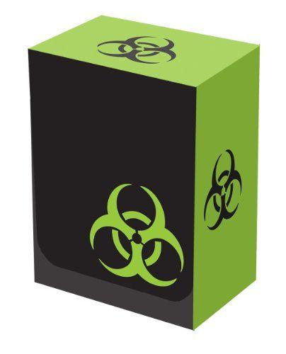 Legion Iconic Black/Green Bio-Hazard Deck Box (Holds 100 Sleeved Magic/MTG/Pokemon/Yu... Cards) $1.05 (save $3.45)