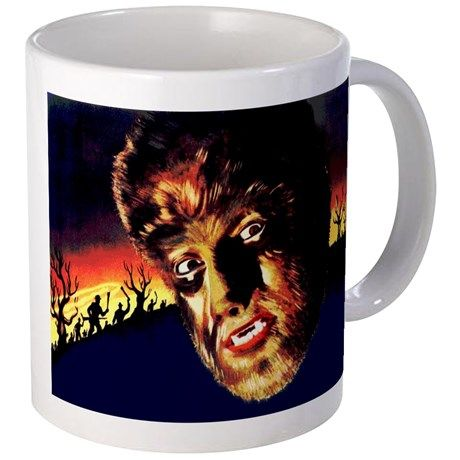The Wolf Man Mug on CafePress.com