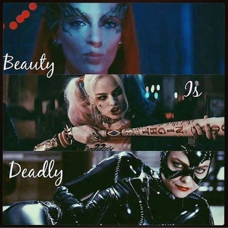 Poison Ivy | Harley Quinn | Catwoman
