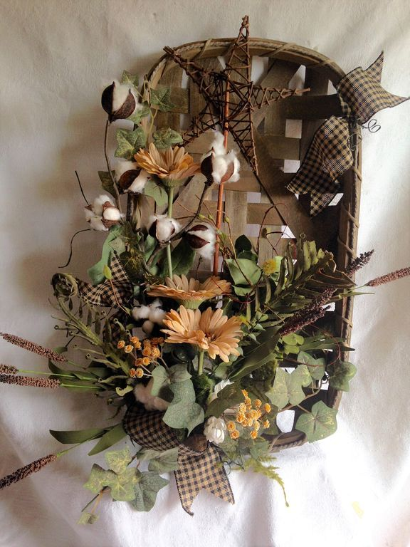 Fantastic Tobacco Basket Decor Ideas
