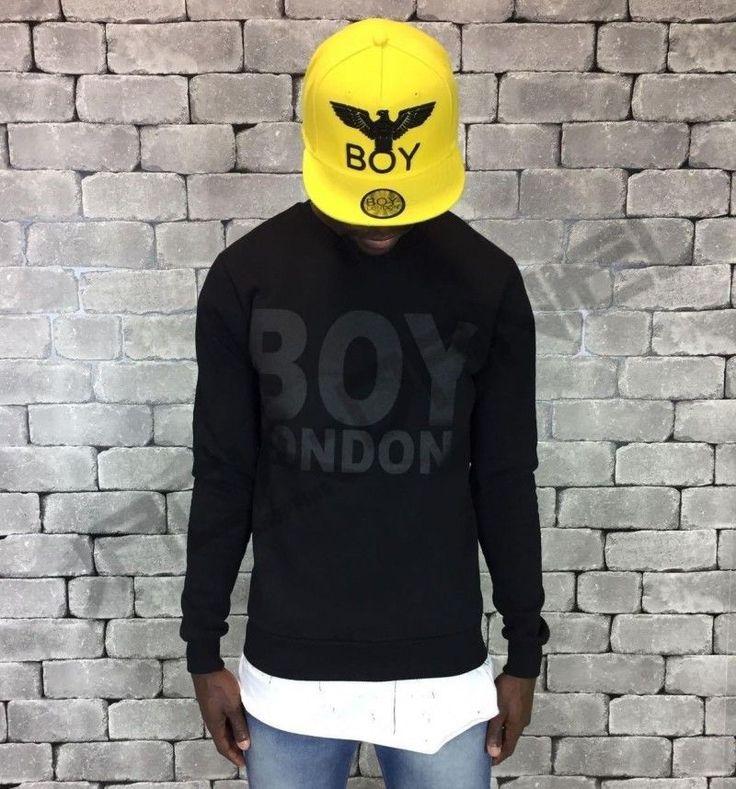 FELPA BOY LONDON TOTAL BLACK ART.BL424-BLK