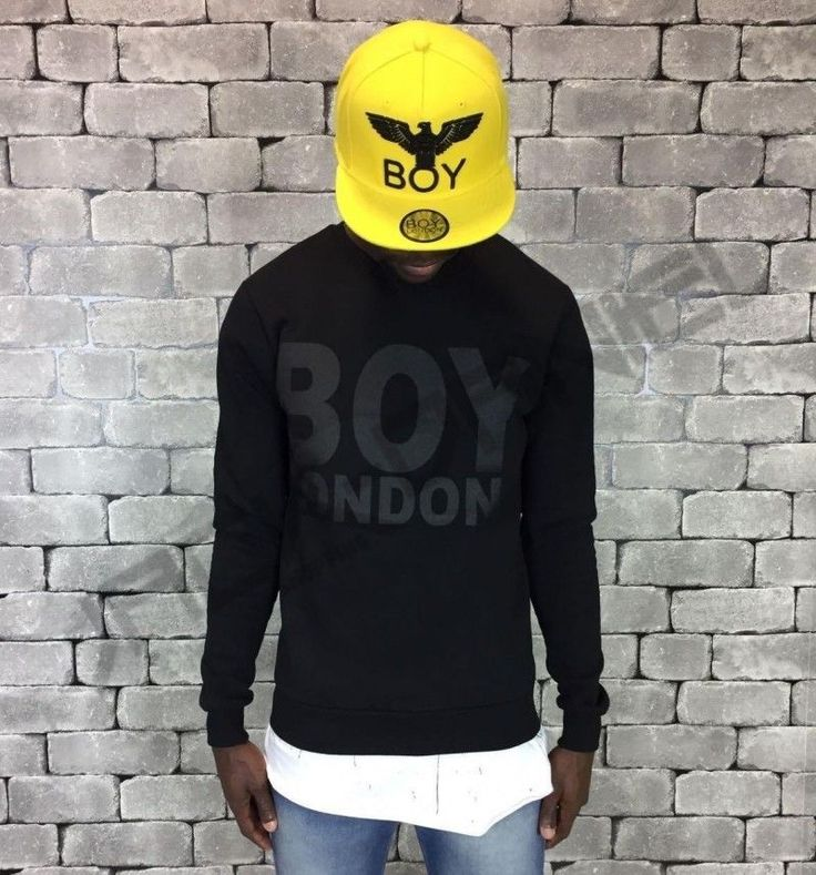 FELPA BOY LONDON TOTAL BLACK ART.BL424-BLK