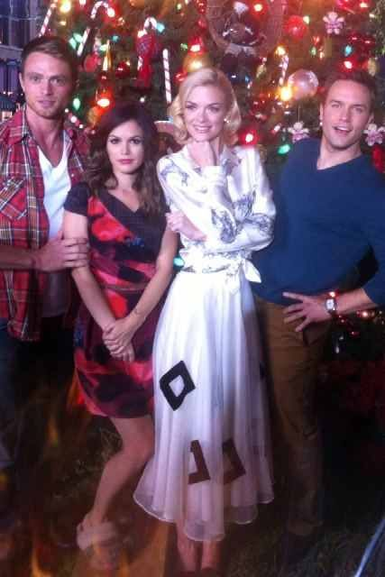 Wilson Bethel, Rachel Bilson, Jamie King, and Scott Porter.