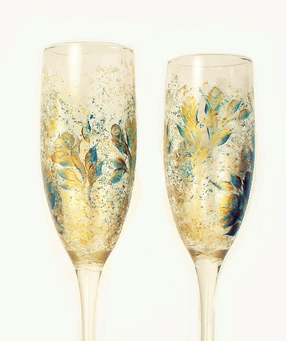 Best 20+ Wedding Toasting Glasses Ideas On Pinterest