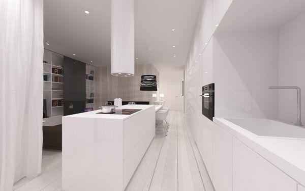 minimalist apartment Poland 5 Minimalist Apartment in Poland Inspired by Scandinavian Design