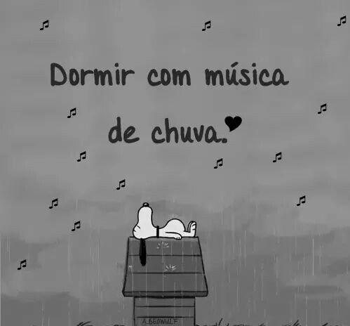Sleeping with rain music. !!!