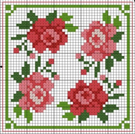 #Biscornu Inspiration #Cross-stitch
