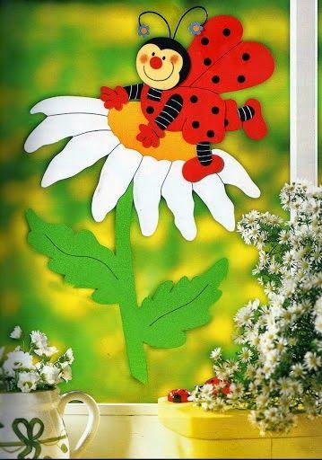 Paper crafts, spring crafts, papierové tvorenie, jarné tvorenie pre deti