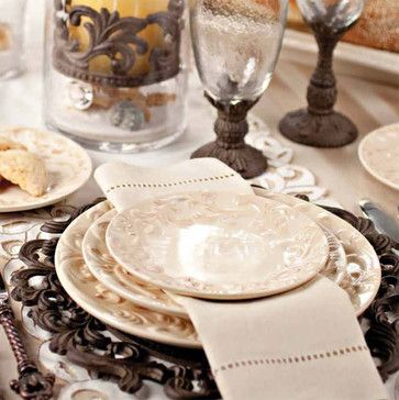 Tuscan Dinnerware - The GG Collection - mediterranean - dinnerware - atlanta - Iron Accents