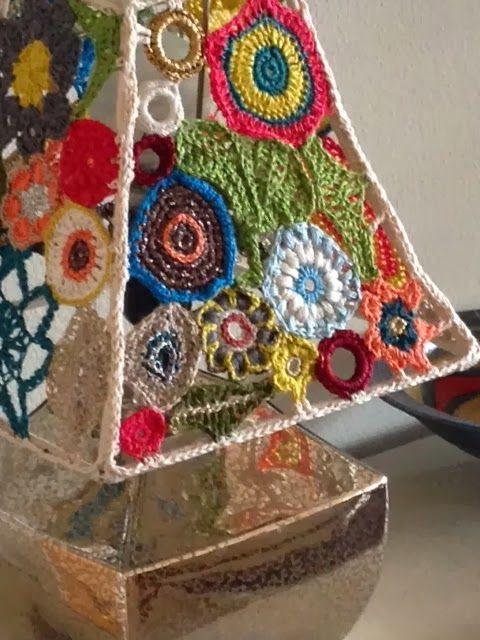 Pantalla a crochet (la quiero en mi casitaa ^^)                              …